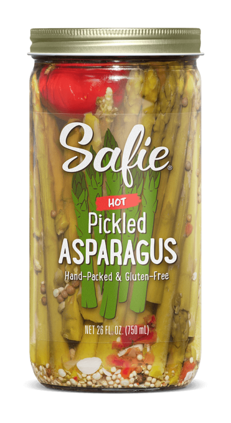 Safie Hot Pickled Asparagus 26 FL OZ