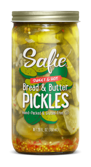 Safie Sweet & Hot Bread & Butter Pickles 26 FL OZ